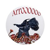 Arroo Scottish Terrier Ornament (Round)