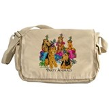 Airedale Party Animals Messenger Bag