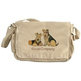 Airedale Terriers - Good Comp Messenger Bag