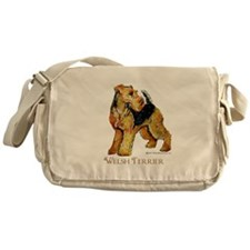 Welsh Terrier Design Messenger Bag
