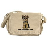 Yorkshire Terrier - Yorkie Bo Messenger Bag
