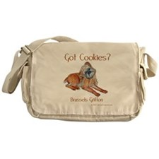 Brussels Griffon Cookies! Messenger Bag