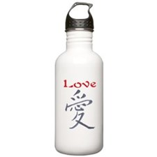 LOVE (CHINESE PAINTING) Water Bottle