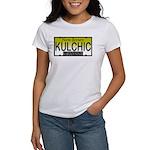 KULCHIC NJ Vanity Plate Women's T-Shirt