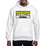 KULCHIC NJ Vanity Plate Hooded Sweatshirt