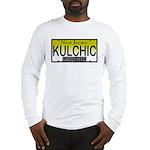 KULCHIC NJ Vanity Plate Long Sleeve T-Shirt