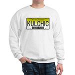 KULCHIC NJ Vanity Plate Sweatshirt