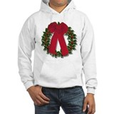 Holly Wreath Jumper Hoody
