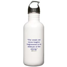 THE WEAK CONNOT FORGIVE Water Bottle