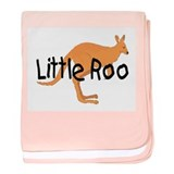 LITTLE ROO - BROWN ROO baby blanket