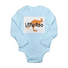 LITTLE ROO - BROWN ROO Long Sleeve Infant Bodysuit