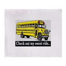 CHECK OUT MY SWEET RIDE Throw Blanket