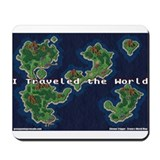 GGC Crono's World Map Mousepad
