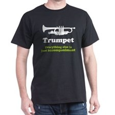 Funny Trumpet Gift Dark T-Shirt