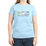 Peace, Love, Maltipoos Women's Light T-Shirt