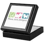 Peace, Love, Maltipoos Keepsake Box