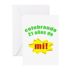 Celebrando 21 Greeting Cards (Pk of 10)