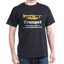 Trumpet Gift (Funny) Dark T-Shirt