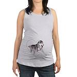 Peace, Love, Yorkiepoos Organic Toddler T-Shirt (d