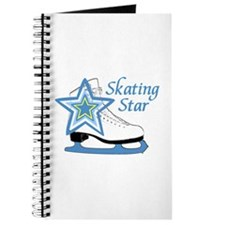 Skating Star Ice Skate Journal