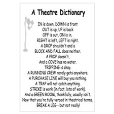 A Theatre Dictionary