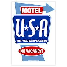 Motel USA Sign