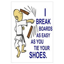 Funny Man Breaking Board 2