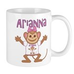Little Monkey Arianna Mug