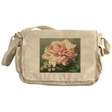 """Victorian Rose"" Messenger Bag"