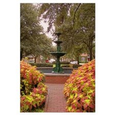 Savannah GA Fountain