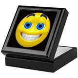 Smiling Smiley Face Keepsake Box