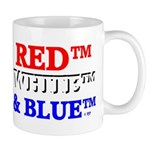 RED, WHITE & BLUE Mug