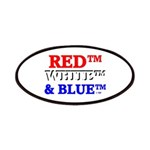 RED, WHITE & BLUE Patches