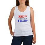 RED, WHITE & BLUE Women's Tank Top