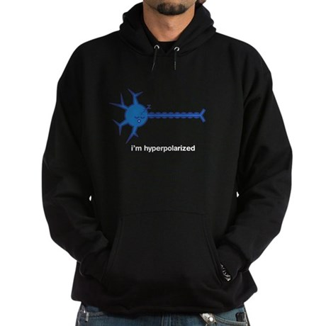 I'm hyperpolarized Hoodie (black)
