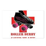 Roller skating Postcards (Package of 8)