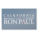 California for Ron Paul Decal