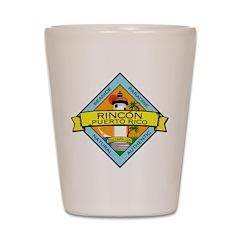 New Rincon Logo Shot Glass