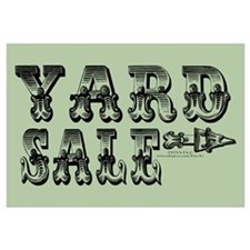 Yard Sale Signs (With Right Arrow)