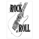 Funny Rock 'n' roll Wall Art
