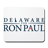Delaware for Ron Paul Mousepad
