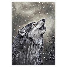 Cute Wolf Wall Art