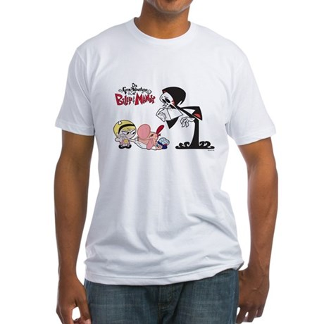 The Grim Adventures Fitted T-Shirt