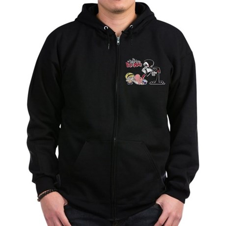 The Grim Adventures Zip Dark Hoodie