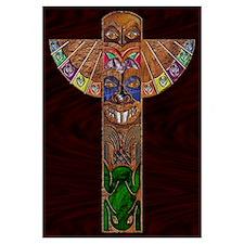 Totem Pole Modern Art