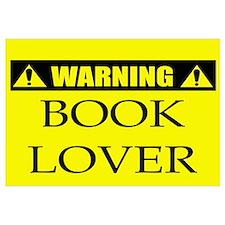 WARNING: Book Lover