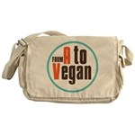 From A to Vegan Messenger Bag