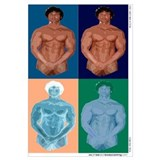 Funny Male nude Wall Art