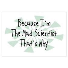 Because Mad Scientist