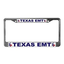 Texas EMT License Plate Frame